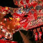迫力満点の喧嘩あんどん、沼田町の「夜高あんどん祭り」を見てきたよ